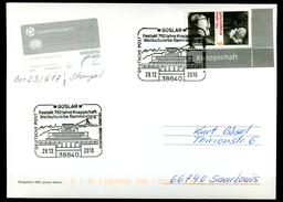 """Germany 2010 Big Sonderkarte/ Card Mi.Nr.2831 Mit SST""""Goslar-Festakt 750 Jahre Knappschaft,The Miner,Bergmann""""1 Big Card - Fabriken Und Industrien"""