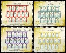 Fiji Fidji 2005 Yvertn° 1056-1059 *** MNH Cote 12,50 Euro 50 Ans Europa 50 Jaar - Fidji (1970-...)