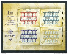 Fiji Fidji 2005 Yvertn° Bloc 48 *** MNH Cote 12,50 Euro 50 Ans Europa 50 Jaar - Fidji (1970-...)