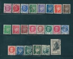 France Timbres De 1941  N°505  A  525  Série Complète  Oblitéré - Francia