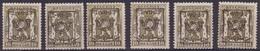 België/Belgique  Preo Typo N° 6x 430. - Typo Precancels 1936-51 (Small Seal Of The State)