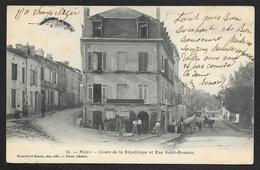 BLAYE Cours De La République Et Rue St Simon (Brunette & Simon) Gironde (33) - Blaye