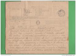 Telegramma ASIAGO 1918 VAL BRENTA Vall' Arsa Val Scorbia E Di Dosso Avion Aerei Abbattuti Su Conegliano - Documenti