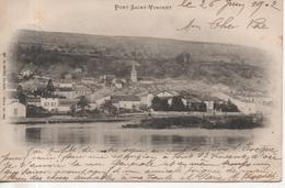 CPA - PONT SAINT VINCENT - PRECURSEUR - AD WETCK - 186 - - France