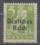 German States Bavaria 1920. Scott #256 (M) Plowman * - Bavière
