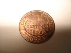 1 CENTIME 1898  SUP - Frankreich