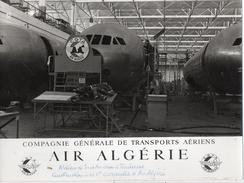 AVIONS..AVIATION...ALGERIE...TOULOUSE...SUD AVIATION...CARAVELLE...18 X 24 Cm - Aviation