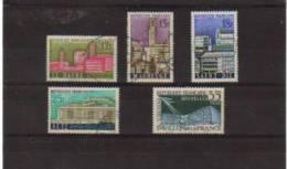 France Timbres De 1958 N°1152 A 1156 Oblitérés - Used Stamps