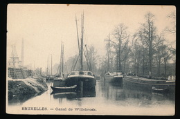 BRUXELLES = CANAL DE WILLEBROEK - ARK - PENICHE - Maritiem