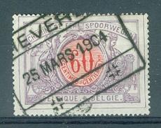 """BELGIE - OBP Nr TR 37 - Cachet  """"HEVERLÉ"""" - (ref. AD-9149) - Chemins De Fer"""