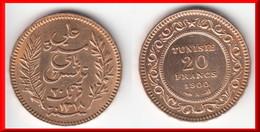 **** TUNISIE - TUNISIA - 20 FRANCS 1900 A PARIS - OR - GOLD **** EN ACHAT IMMEDIAT !!! - Tunisia