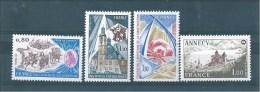 France Timbres De 1977    N°1932 A 1935  Neuf ** Sans Charnière - Unused Stamps