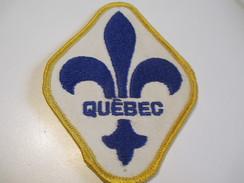 Écusson Tissu Ancien / Canada/ Québec/Police/ Communauté Urbaine De Montréal/ Années 1980            ET97 - Patches