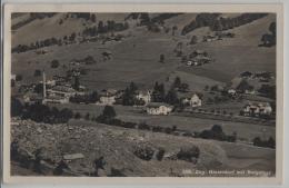 Engi-Hinterdorf Mit Bergsturz - Photo: Schönwetter- Elmer No. 289 - GL Glaris