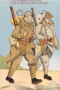 """Carte De L'Illustrateur """" A. DUMONT """" - Carte Patriotique - Soldats De La 2e Guerre Mondiale - Patriottiche"""
