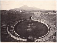 Foto (edizione Alinari )  N.°11340 Pompei L'Anfiteatro Anno 70 Av. G.C. - Luoghi