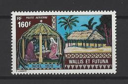 WALLIS & FUTUNA . YT PA 85 Neuf ** Noël 1978 - Poste Aérienne