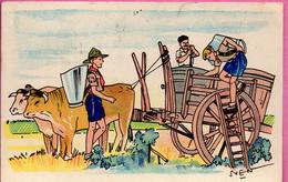 SVEN - Vendanges De Guerre - Andere Illustrators