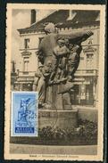 Belgique - Carte Postale Maximum 1949  Le Monument Anseele à Gent - Cartes-maximum (CM)