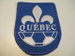 Écusson Tissu Ancien / Canada/ Québec/Sport / SOCCER/ Années 1980       ET103 - Patches