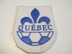Écusson Tissu Ancien / Canada/ Québec/Sport / SOCCER/ Années 1980       ET105 - Patches