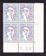 Coins Datés N° 1282 Type I Marianne De Cocteau - TB** - Coins Datés