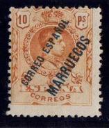 TANGER NE Nº 3. CON CHARNELA. - Marruecos Español
