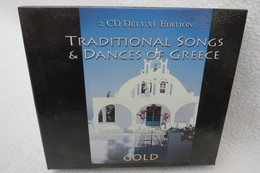 """2 CD-Box """"Traditional Songs & Dances Of Greece"""" Gold - Hit-Compilations"""