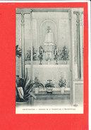 76 SAINT SAENS Cpa Intérieur De La Chapelle Sainte Vierge     Edit ELD - Saint Saens
