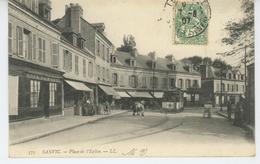 SANVIC - Place De L'Eglise ( Tramway ) - Autres Communes