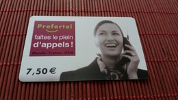 Prepaidcard  France 2 Scan On Backside TELE 2 Used Rare - Frankreich