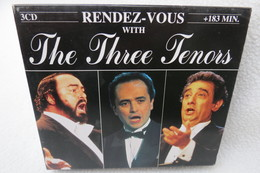 "3 CD-Box ""The Three Tenors"" Rendez-Vous - Opera"