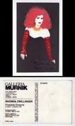"""Cartolina Serigrafica Con Applicazioni. RHONDA ZWILLINGER """"Possible Dreams"""" Inaugurazione 1986 - Inaugurazioni"""