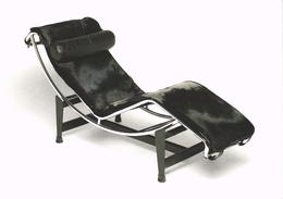 LE CORBUSIER - Chaise Longue - Très Très Rare - Photo Paul Huf - Célébrités