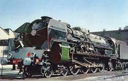 Locomotive  à Vapeur (Francaise)  -   Type 241P  -  CPM - Trains