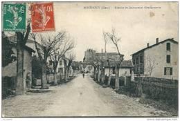 32  MIRADOUX  -  Avenue De Lectoure  Et La  GENDARMERIE - Otros Municipios