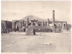 Foto (edizione Alinari )  N.° 34500 Pompei Foro Civile - Luoghi