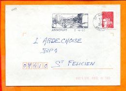 ARDECHE, Annonay, Flamme SCOTEM N°17659, - Oblitérations Mécaniques (flammes)