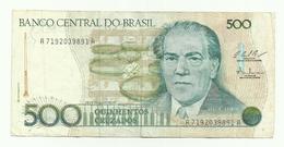 Billet Du Brésil De 500 Cruzados - Brésil
