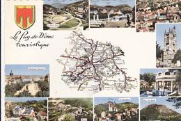 CPSM    LE PUY DE DOME Touristique 63 - Francia