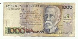 Billet Du Brésil De 1000 Cruzados (sans Cachet) - Brésil