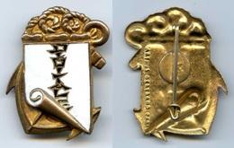 328 (28) - MARINE - DRAGUEUR DIGITALE - ARTHUS BERTRAND POINCON SUR PASTILLE - Insignes & Rubans