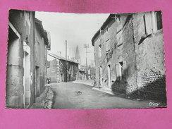 PERSAC 1950   ARDT MONTMORILLON / CANTON LUSSAC  /  LA  GRAND RUE   CIRC OUI EDIT - Francia