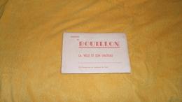 SOUVENIR DE BOUILLON LA VILLE ET SON CHATEAU. / 10 CARTES VUE EN COULEURS DE LUXE. / DATE ?. - Sonstige