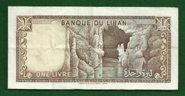Billet Du Liban De 1 Livre - Liban