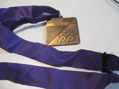 Médaille/ Le Marathon International De Montréal/Canada/ Participation/ 1981    SPO106 - Other
