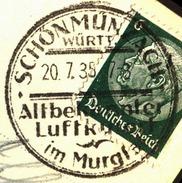 GERMANY - REICH - SCHONMUNZACH  LUFTKURORT - 1935 - Deutschland