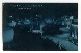 PARIS - Exposition Des Arts Décoratifs - Vue De Nuit - Exposiciones