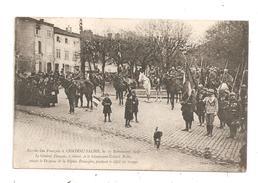 Chateau-Salins-Le 17 Novembre 1918 Le Général Daugan-(B.6656) - Chateau Salins