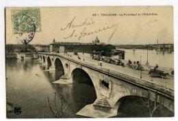 TOULOUSE - Le Pont-Neuf Et L'Hôtel-Dieu - Toulouse